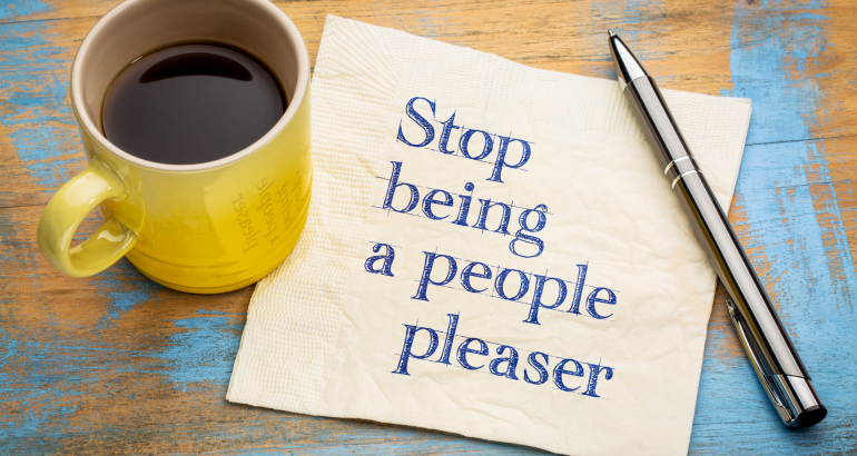 3 tips to stop being a people-pleaser